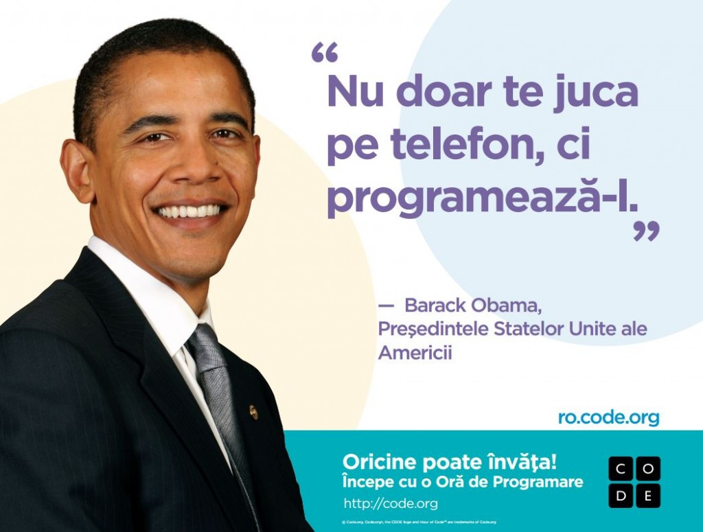 Barack Obama Hour of Code